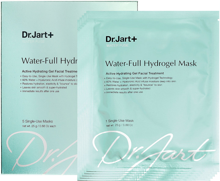 Dr. Jart+ Water Fuse Water-Full Hydrogel Mask Sephora VIB Sales Hello Nance Beauty Fashion Lifestyle Travel Lifestyle Canada