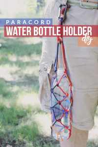 Paracord Water Bottle Holder DIY + Hiking Hydration ...
