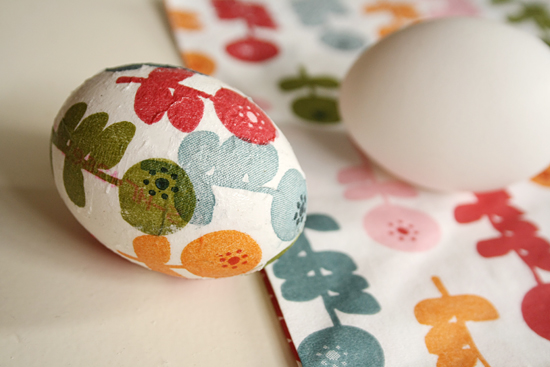 Decoupage-egg-diy