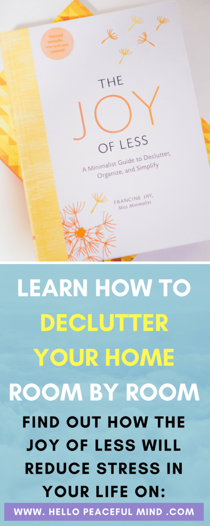 Discover how to declutter your home with the step by step guide! Plus get the free audiobook on www.HelloPeacefulMind.com