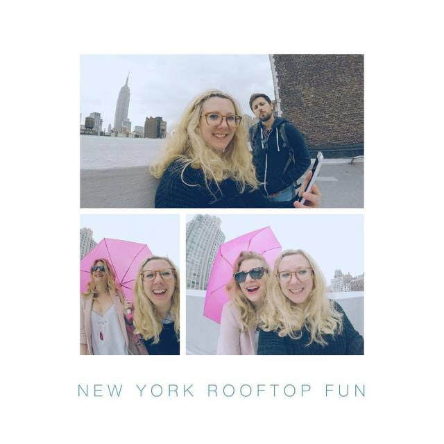 Day 1 in New York! rooftopview newyork newyorkfun empirestatebuilding viewfromthetophellip