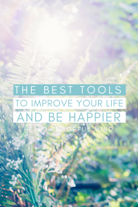 Discover the best tools to improve your life and be happier. From mental health to wellness and productivity! Go to www.hellopeacefulmind.com to start changing your life today!