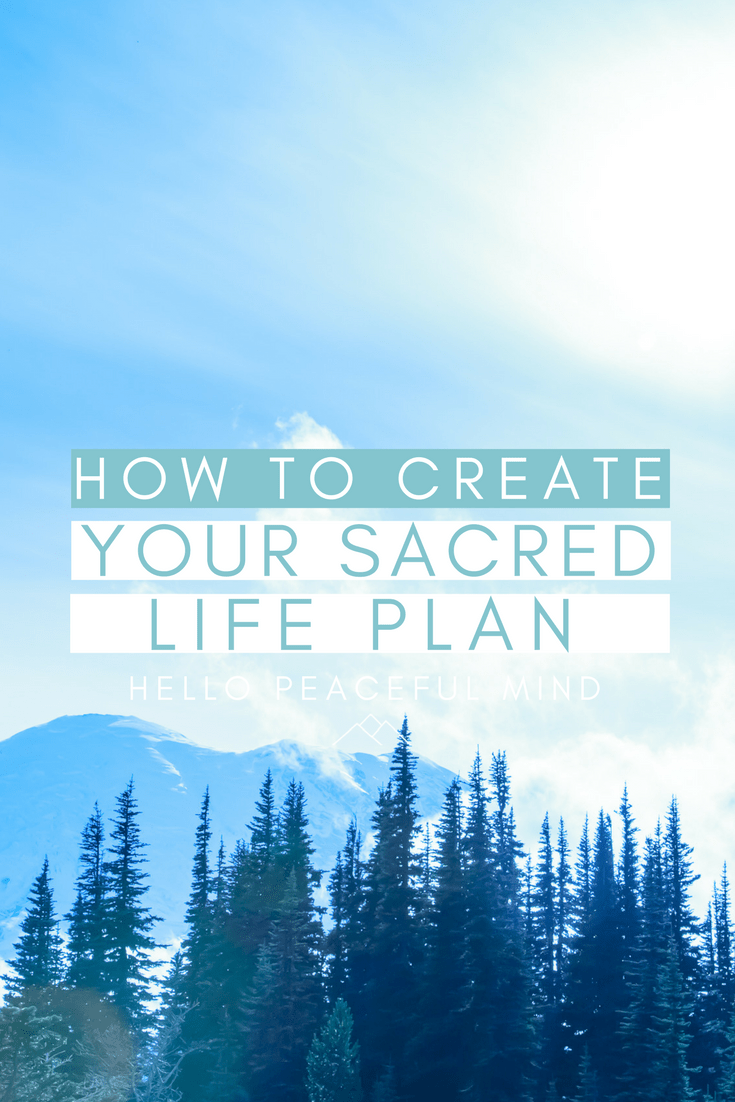 Sara Christensen will show you how to create your very own sacred life plan. You will discover how to prioritize, make a plan and commit to your dreams.
