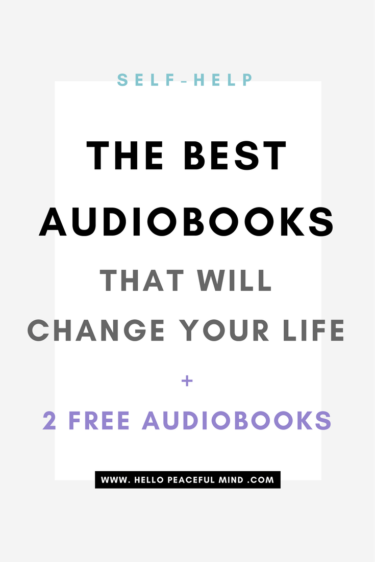 Get 2 free audiobooks and discover the best in self-help, healthy living, relationship and happy home. Go to www.HelloPeacefulMind.com to get your free credits!