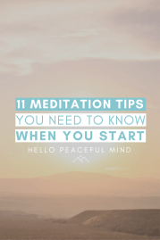 11 Meditation Tips You Need To Know When You Start