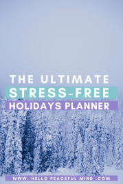 The Ultimate Stress-Free Holidays Planner To Relax & Get Organized