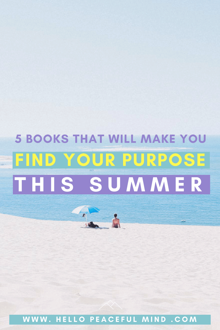 Do you know what is your purpose? Here is some reading to help you find your purpose and create a life with it. Go to www.HelloPeacefulMind.com to see the 2018 summer reading list