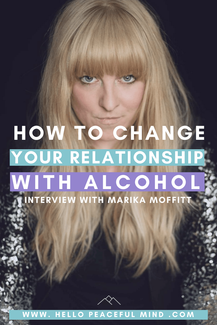 Discover how Marika Moffitt changed her relationship with alcohol to follow her dream of becoming a pet photographer. #sober #depression #mentalhealth #followyourdreams