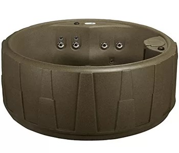 AquaRest Spas 5-Person Plug and Play Select 200 Spa Series - New for 2018 - MADE IN THE USA (Brownstone)