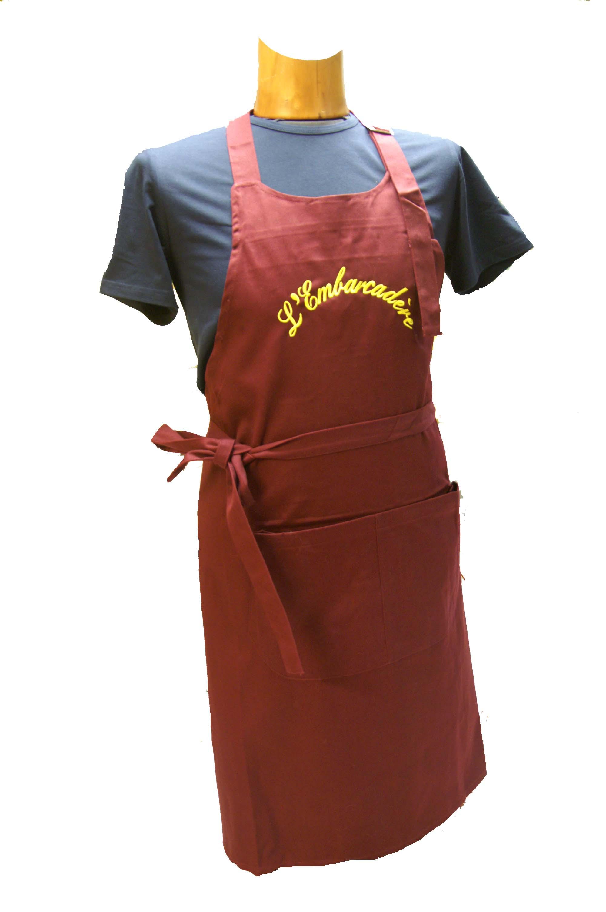 tablier de cuisine professionnel