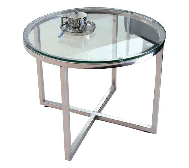 Table Basse En Verre Ronde Ou Ovale Talulah Table Basse Ronde En Verre Et Pi