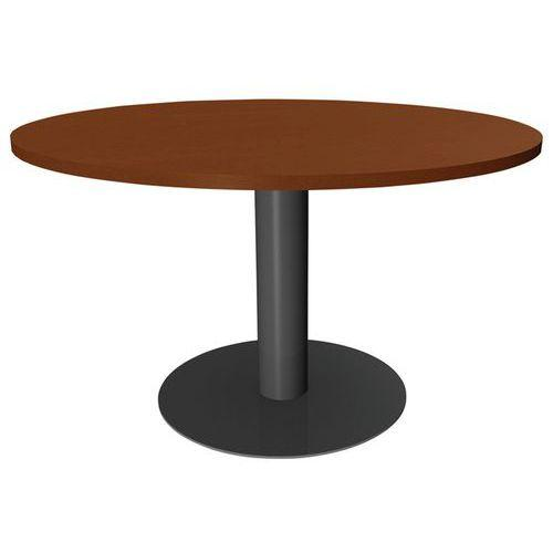 table ronde azari pied central diametre 120 cm t 1317