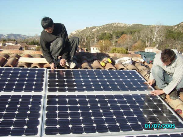 etude dimensionnement photovoltaique