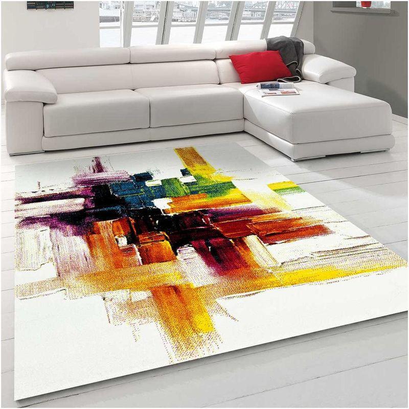 140x140 carre un amour de tapis tapis carre tapis salon moderne design abstrait poils ras grand tapis chambre turquoise tapis creme jaune gris