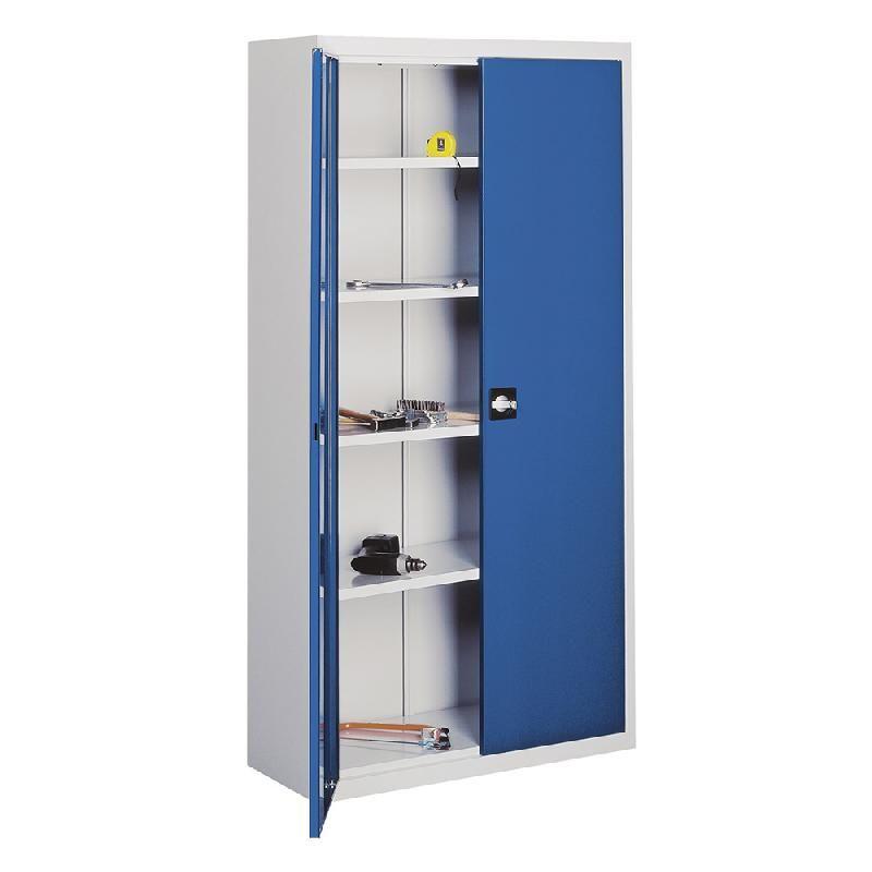 armoire d atelier portes battantes