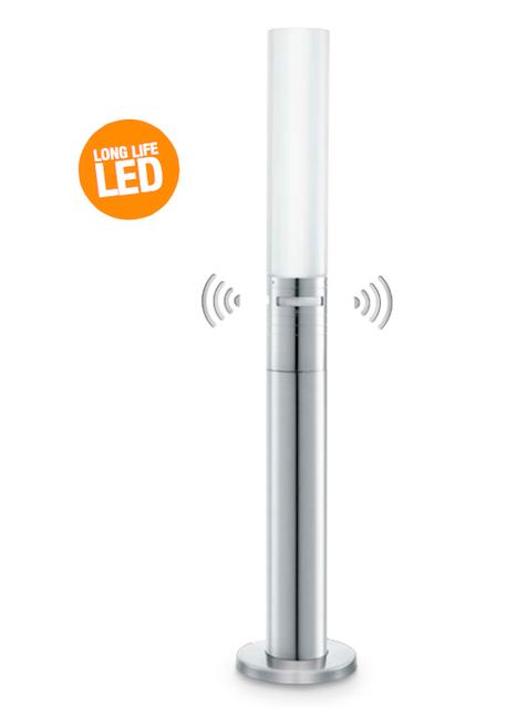 Borne declairage exterieur led a detection de presence  Relamping Service LED