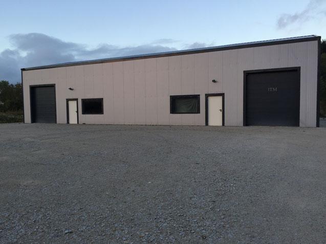 garage metallique monopente