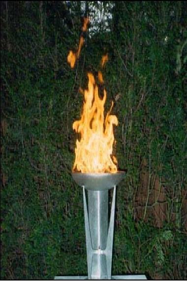 Torchere ornementale
