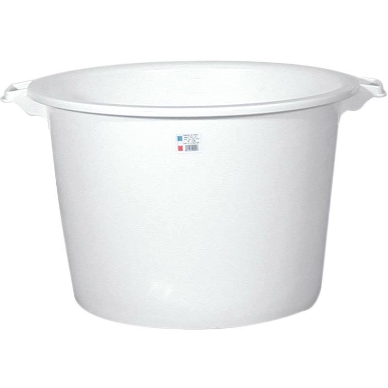 bassine a gras lourde de type landaise 55 litres diametre 60 cm