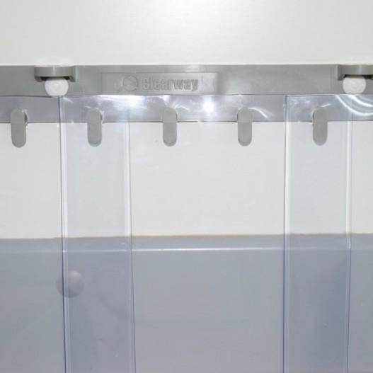 Rideau  lanires pvc grand froid pour chambre froide et congelateur