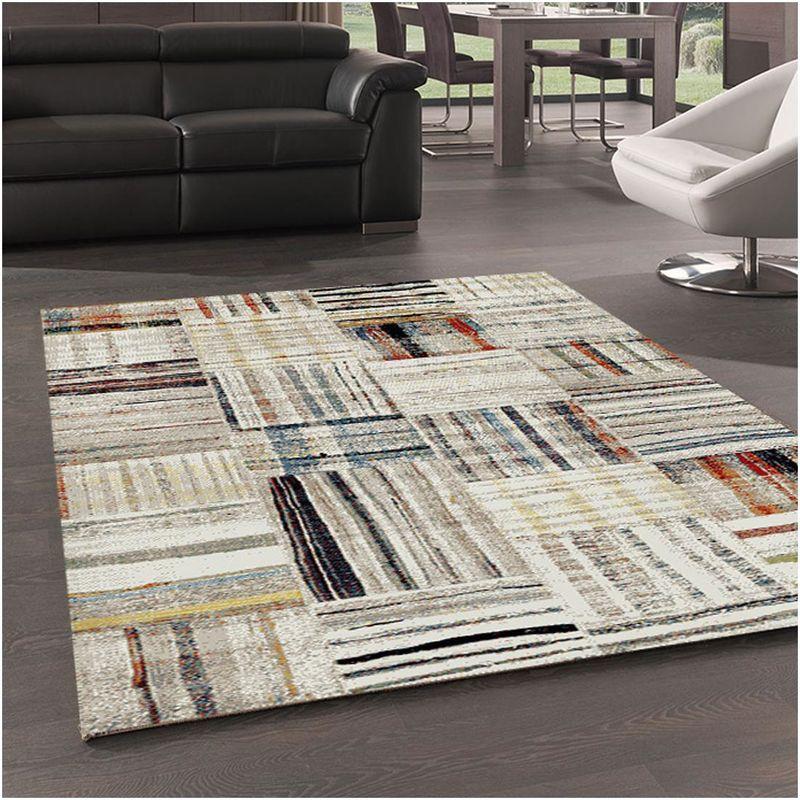un amour de tapis grand tapis salon moderne design scandinave tapis berbere ethnique poils ras tapis salle a manger turquoise tapis salon