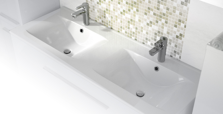 lavabo et vasque plan de toilette ceramique soft