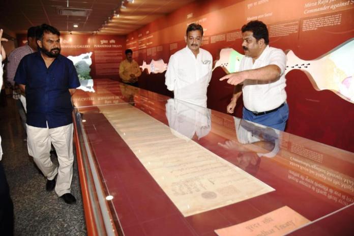 chhatrapati shivaji maharaj, chhatrapati shivaji, chhatrapati shivaji maharaj spouse, Hemant Patil, Sambhaji Raje, Rajasthan State Archive Department , shivaji maharaj,