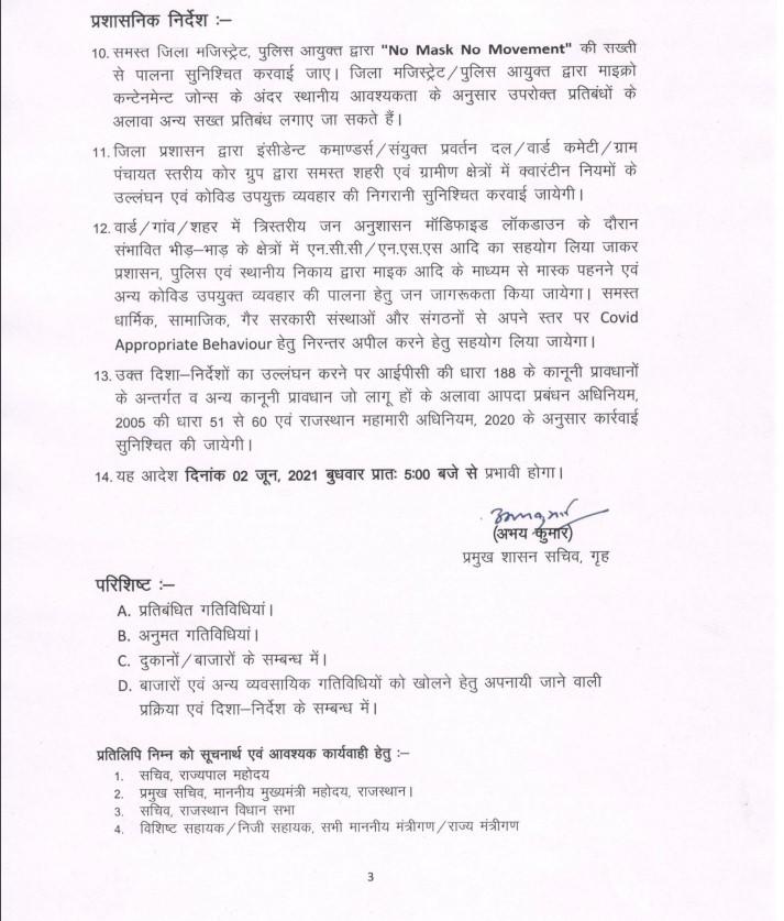 Rajasthan Unlock guideline, Lockdown, ashok Gehlot, guidelines for Covid-19, Rajasthan news,Lockdown in Rajasthan ,