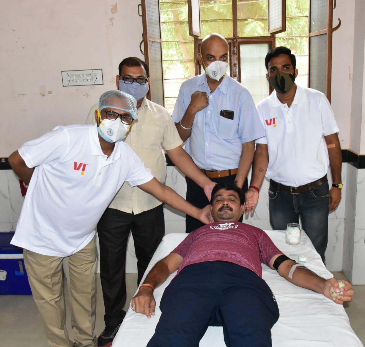 Blood, lifeline, Churu Hindi News, Hindi News Churu, Churu Latest News, CMHO Churu,