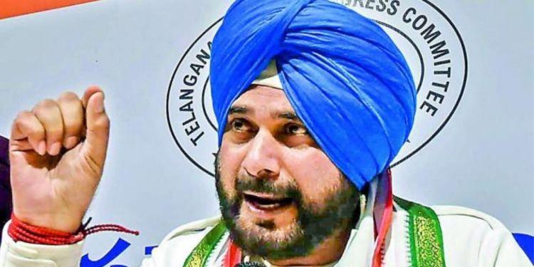 navjot singh sidhu, punjab congress, amarinder singh, navjot singh sidhu punjab chief,