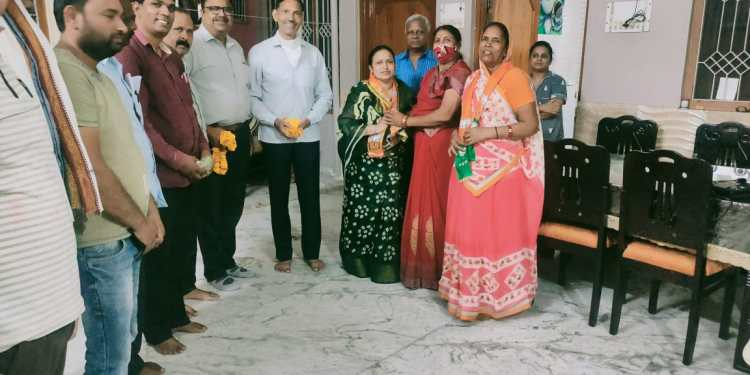 BJP, Mahila Morcha Shahpura, Shahpura News. Shahpura Today news,