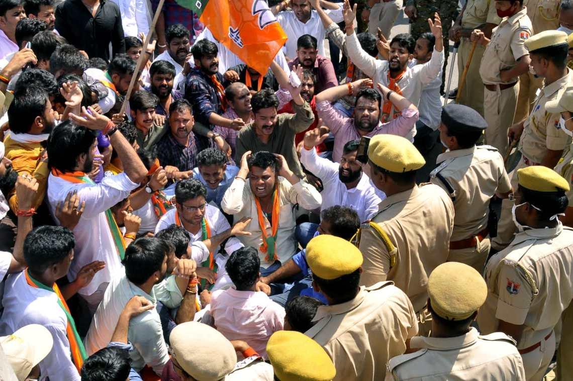 BJP Yuva Morcha, REET exam, REET exam 2021, REET exam  Result, REET exam News, REET exam Update, REET exam Ka kya hoga, BJP Rajasthan,