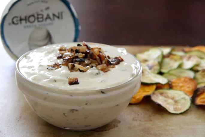 Healthy French Onion Dip