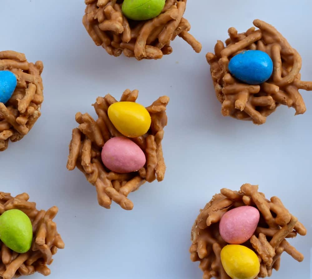 No Bake Haystack Easter Cookies Faith and Fitness Blog