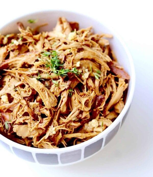 healthy honey garlic chicken slow cooker recipe