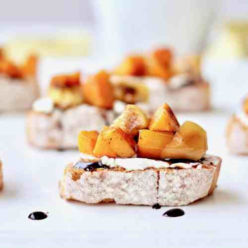 Butternut squash bruschetta recipe