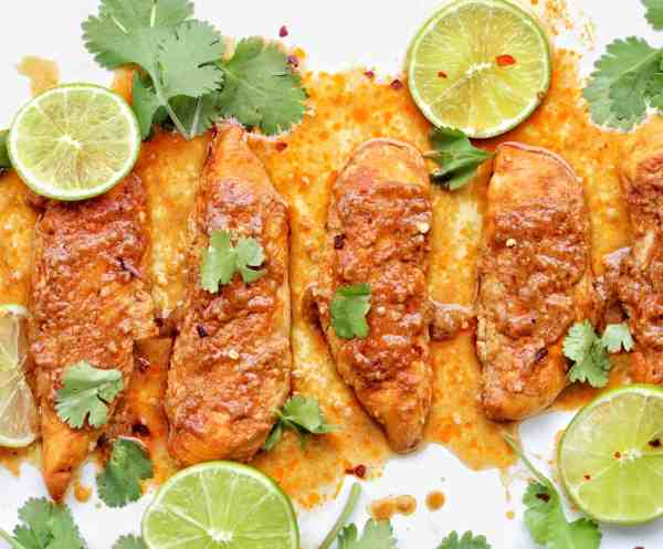 Spicy Baked Chicken recipe