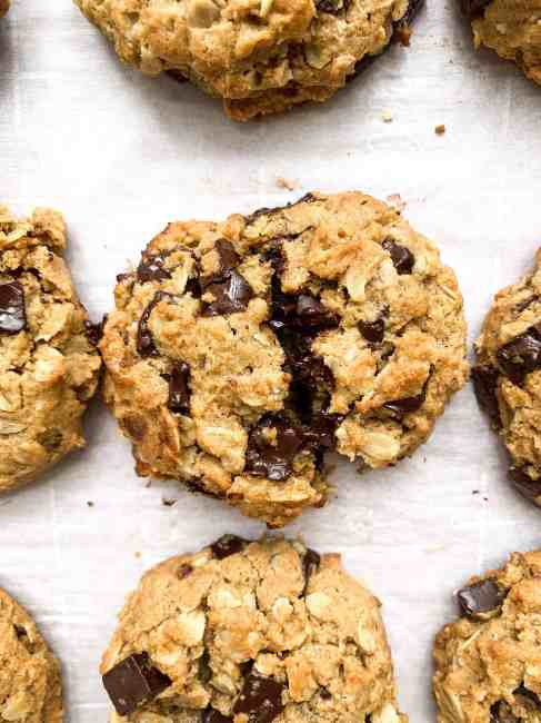 Peanut Butter Oatmeal Chocolate Chunk Cookies