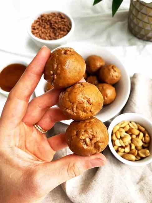 Gluten Free Peanut butter Balls