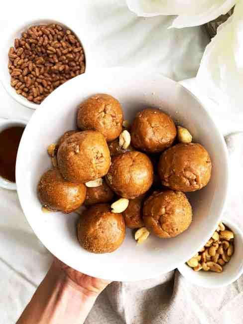 Gluten-Free Crunchy Peanut Butter Balls