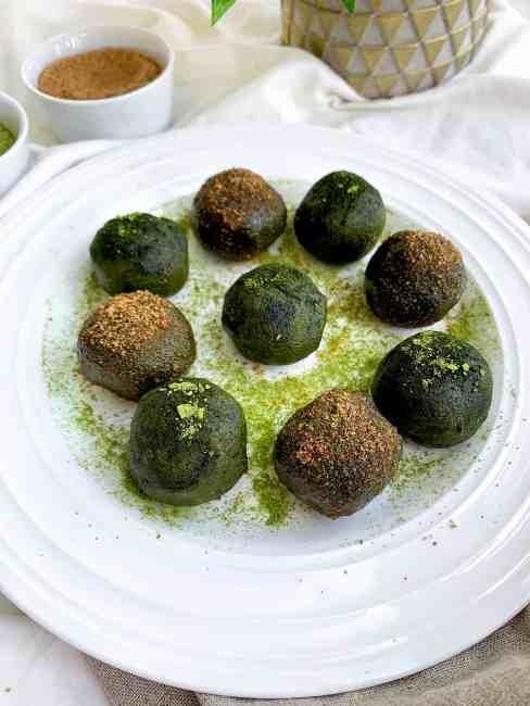 Avocado Matcha Energy Balls