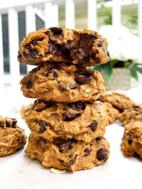 Chocolate Chip Sweet Potato Breakfast Cookies