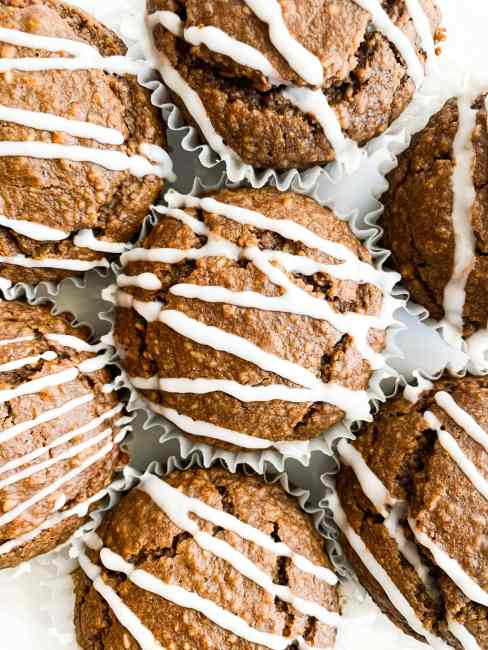 Blender Healthy Gingerbread Muffins that are Vegan + Gluten-Free