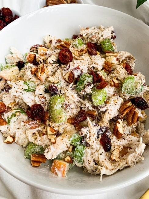 Healthy Greek Yogurt Chicken Salad Recipe