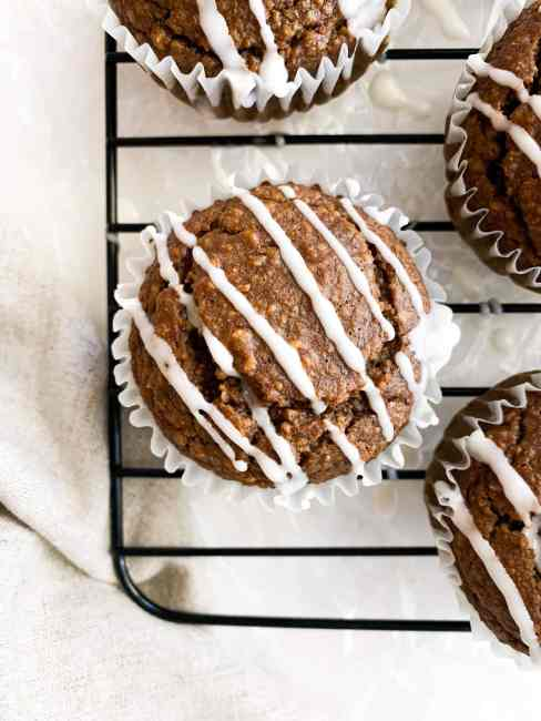 Blender Healthy Gingerbread Muffins that are Vegan and Gluten-Free