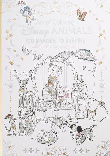 Disney Animals adult coloring book