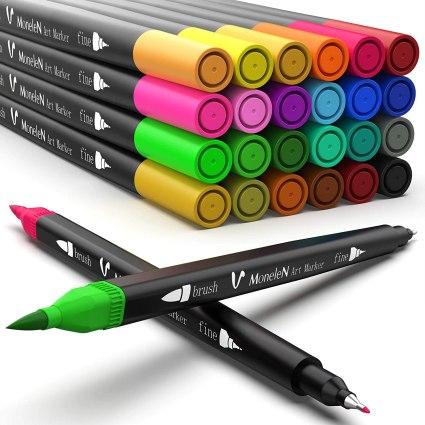 MoneleN double-tipped markers