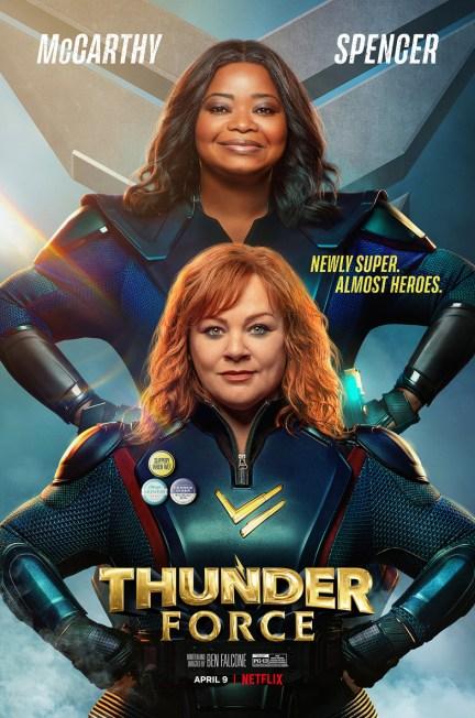 Netflix's Thunder Force film poster