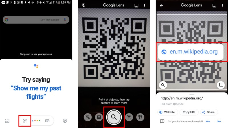 How to Scan a QR code on an Android Phone