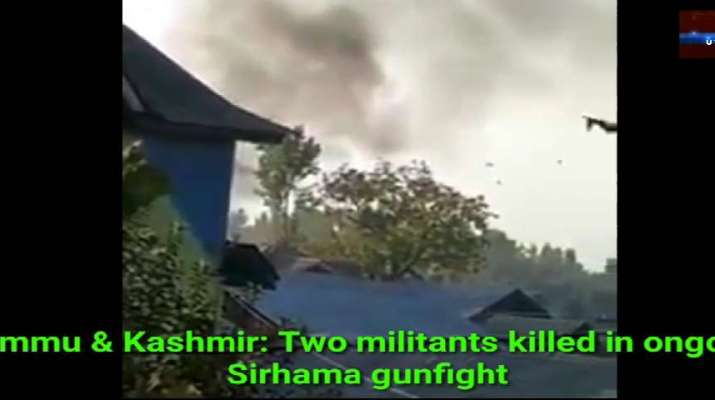 Jammu & Kashmir: Two militants killed in ongoing Sirhama gunfight 1